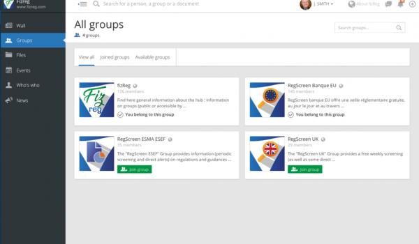 fizReg: Groups